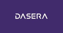 Dasera Logo Purple BG